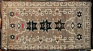 Navajo Rugs and Blankets found at The Native American Trading Company in Denver Colorado